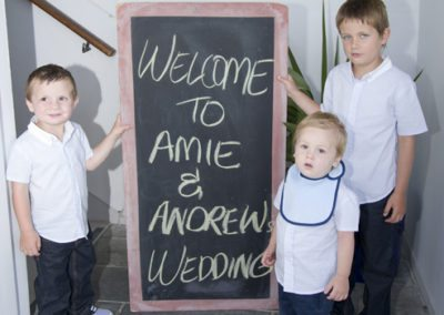 Amie & Andrew wedding